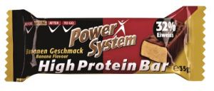 Power System, High Protein Bar (Хай Протеин Бар), 35 г, Банан
