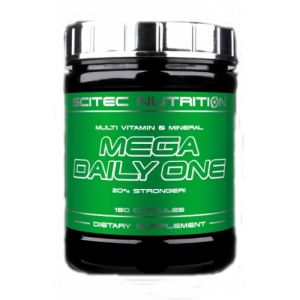Scitec Nutrition, Mega Daily One Plus, 120 капс., 120 капсул