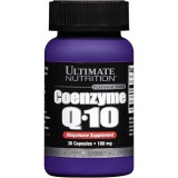 Ultimate Nutrition, Coenzyme Q-10 (Коэнзим Ку-10), 30 капсул