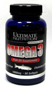 Ultimate Nutrition, Omega 3 (Омега 3), 90 капсул, 90 капсул