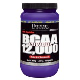 Ultimate Nutrition, BCAA 12000 Powder Unflavored, 435 г
