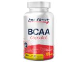 Be First, BCAA Capsules, 120 капсул