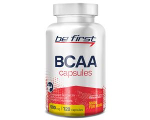 Be First, BCAA Capsules, 120 капсул, 12 порций
