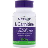 Natrol, L-Carnitine, 500 mg,