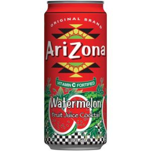 Arizona Beverage Company, Arizona Watermelon , 340 мл, Арбуз