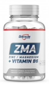 GeneticLab, ZMA, 60 капсул, Россия, 60 капсул