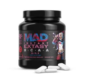 MAD Drugs, BCAA Instant Extasy, 500 г, Россия, Малина