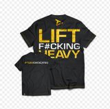 Dedicated Nutrition, Футболка мужская LIFT F#CKING HEAVY, США
