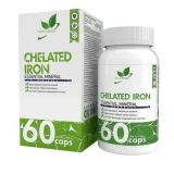 Natural Supp, Chelated Iron, 60 капсул