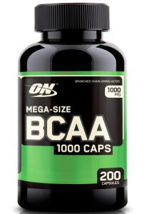 Optimum Nutrition, BCAA 1000 (БЦАА), 200 капсул, Optimum Nutrition, BCAA 1000 (БЦАА), 200 капсул, США