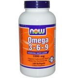Now, Omega 3-6-9 1000 mg, 100 гел капсул
