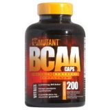 Fit Foods, Mutant BCAA caps, 200 капсул, Канада