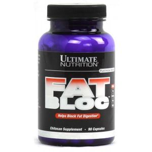 Ultimate Nutrition, Fat Bloc, 90 капсул, 90 капсул