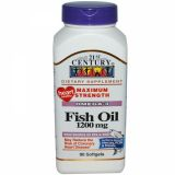 21st Century, Fish Oil, 90 капсул