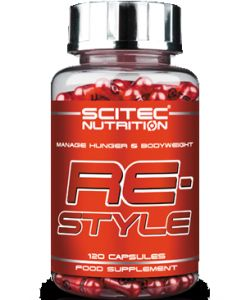 Scitec Nutrition, ReStyle, 120 капсул, США, 60 порций