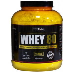 TotalLab, Whey 80, 2 кг, Россия, Ваниль