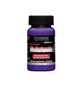 Ultimate Nutrition, Melatonin, 60 таб, США, 60 порций