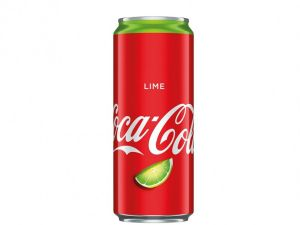 The Coca Cola Company, Coca Cola Lime, 330 мл, 1 порция