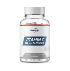 GeneticLab, Vitamin C caps, 500 мг, Россия, 60 капсул