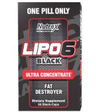 Nutrex, Lipo 6 Black Ultra Concentrate, 60 капсул