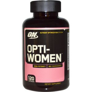 Optimum Nutrition, Opti Women (Опти Вумэн), 120 капсул, 120 капсул