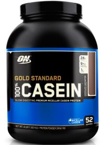 Optimum Nutrition, 100% Casein Standard (Казеин Стандарт), 1818 г, Шоколад