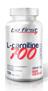 Be First, L-carnitine capsules, 700 мг, 120 капсул