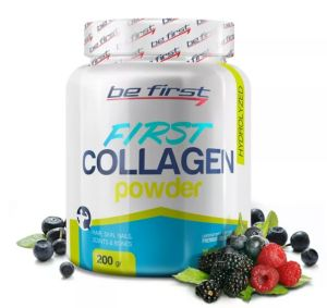 Be First, COLLAGEN powder 200 г, Малина