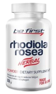 Be First, Rhodiola rosea powder, 33 г, 110 порций