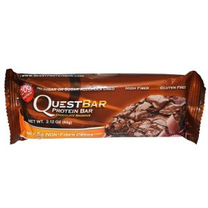 Quest Nutrition, QuestBar, 60 г, Малина-Белый шоколад