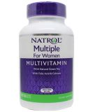 Natrol, Multiple For Women (Multivitamin), 90 таблеток